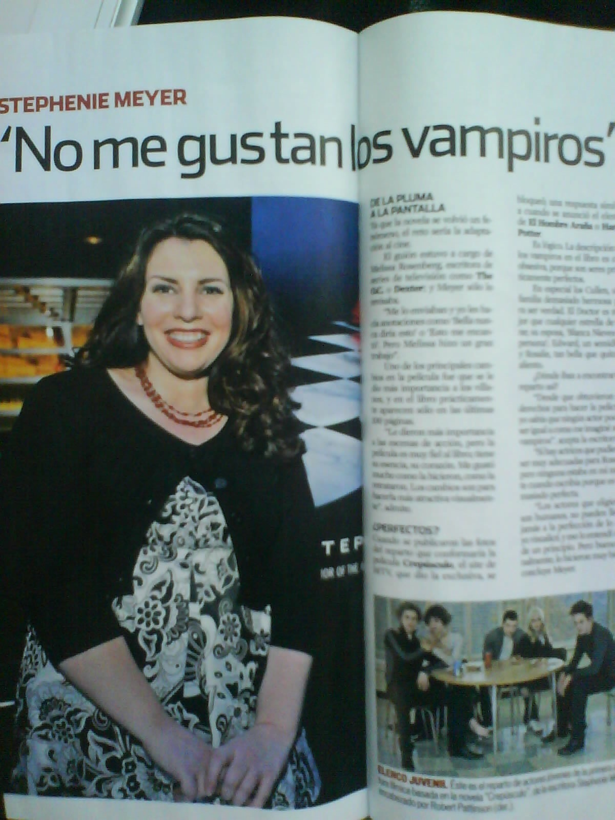 Twilight in Mexican magazine