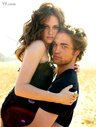 VF Outtakes - robert-pattinson-and-kristen-stewart Photo