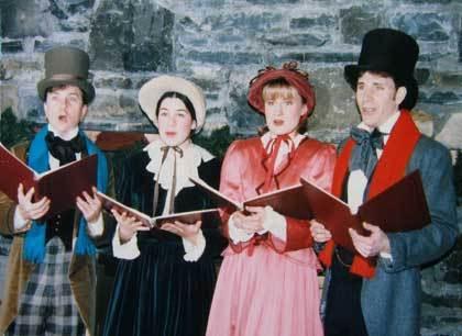 Vintage Christmas Carolers  (Christmas 2008)