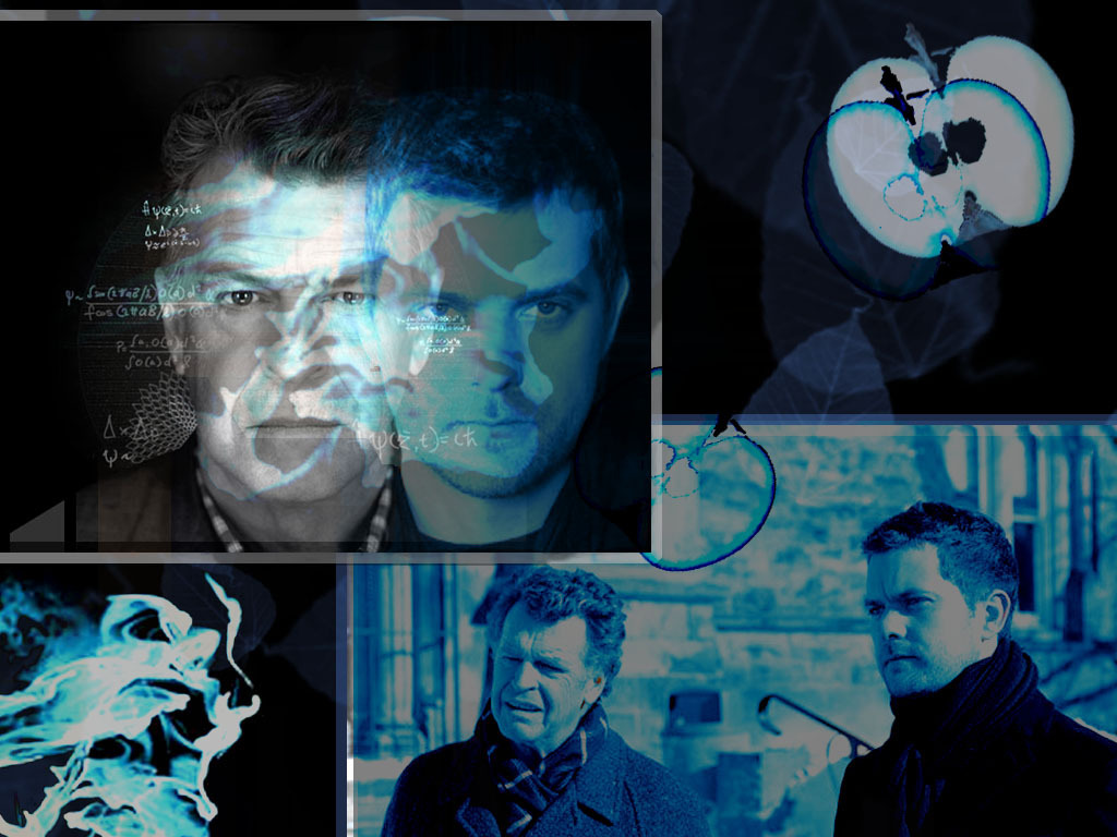 Walter and Peter Wallpaper - Fringe 1024x768 800x600