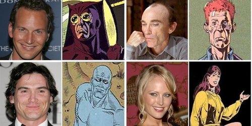 Watchmen Characyer Comparison