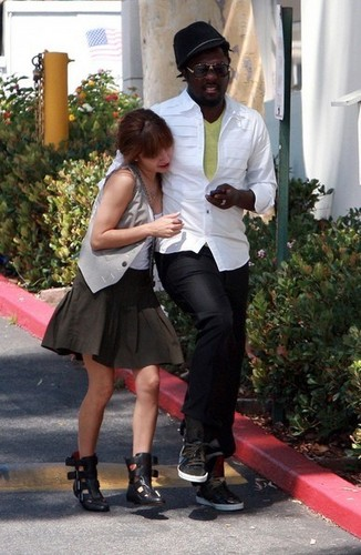 Will.i.am and his girlfriend