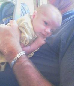 Xavier 3 weeks old