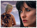 Xena and Gabrielle - xena-warrior-princess wallpaper