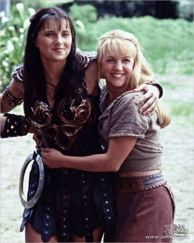 Xena and Gabrielle_ If the shoe fits