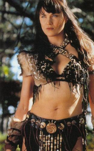 Xena as birago