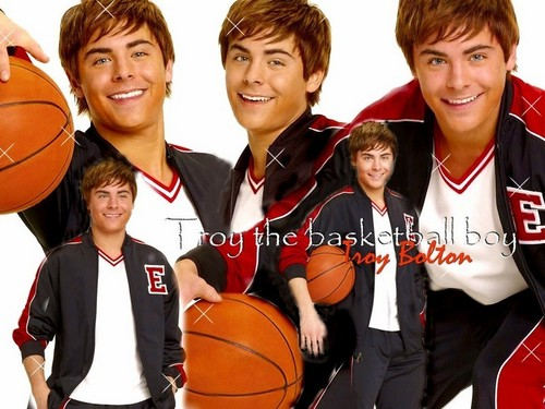 ディズニー Channel Stars 壁紙 entitled Zac Efron Ball