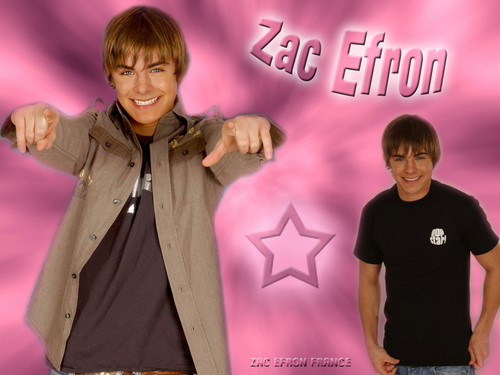 Disney Channel Stars wallpaper titled Zac x