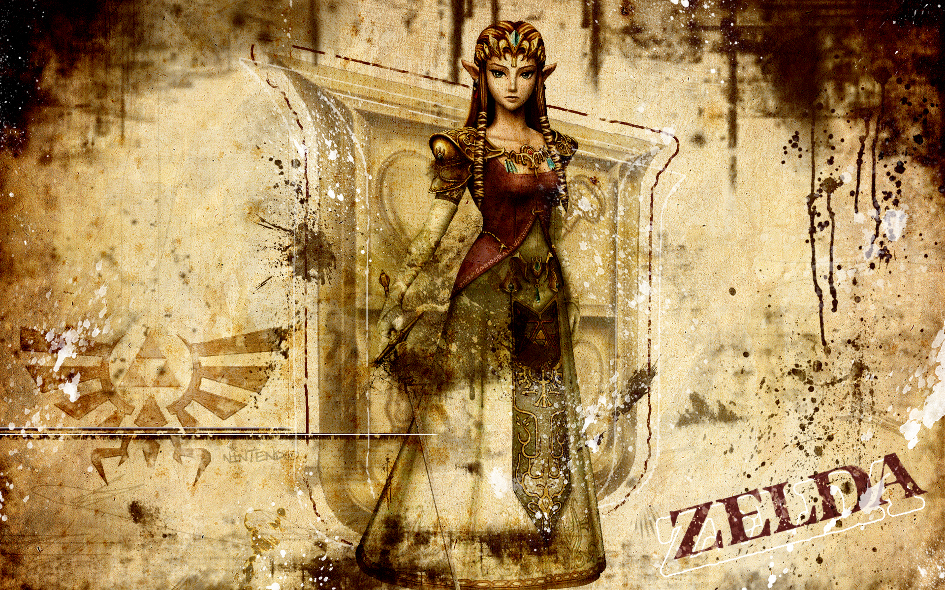 zelda the legend of zelda wallpaper 2833164 fanpop
