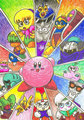 all characters - kirby fan art