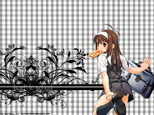 Anime wallpaper titled anime girl