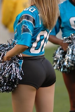 cheerleader butts