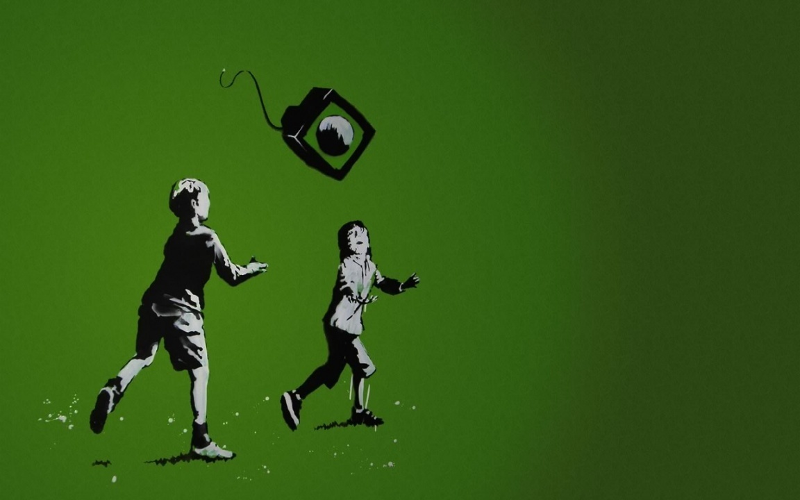 Cool Pictures: banksy graffiti wallpapers