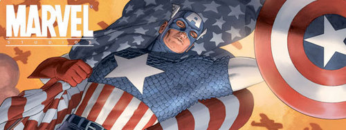 captain america banner