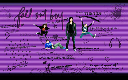 fall out boy<33