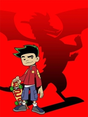 American Dragon: Jake Long achtergrond with anime called jake long