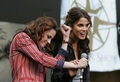 just funny together - nikki-reed-and-kristen-stewart photo