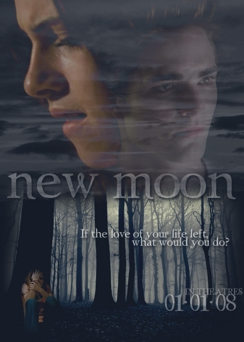 new moon #7 - twilight-series fan art
