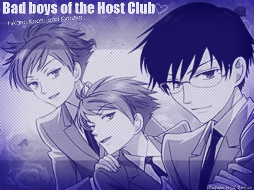 ouran high school host club..