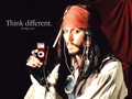 pirate of the caribbean jack sparrow - pirates-of-the-caribbean wallpaper
