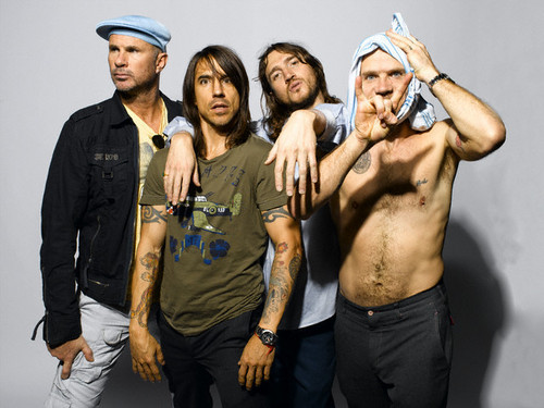 Red Hot Chili Peppers wallpaper possibly with a green beret entitled rhcp