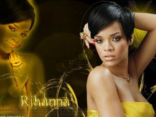 Rihanna wallpaper with a portrait called rihanna