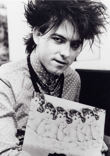 Robert Smith wallpaper containing a sign called the cure