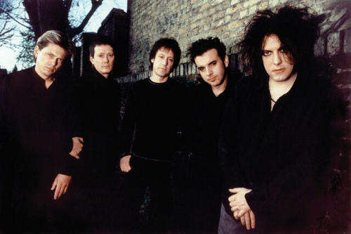 Robert Smith kertas dinding titled the cure