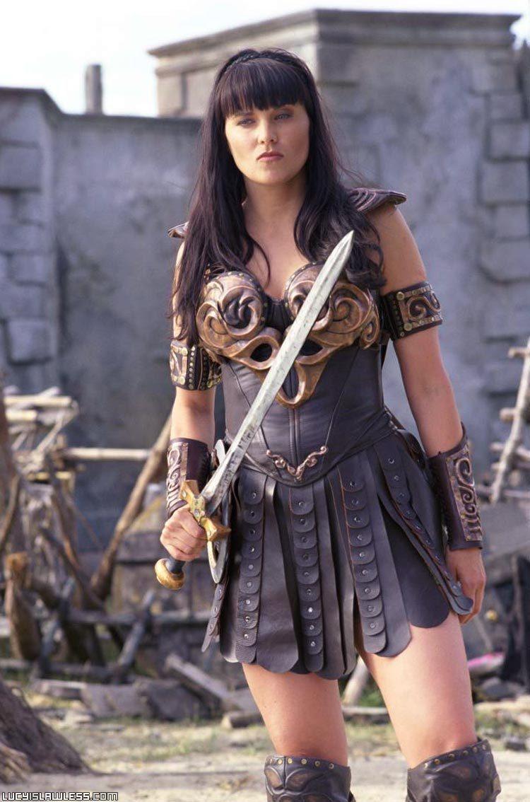 Xena Halloween Costume xena-xena-warrior-prin...