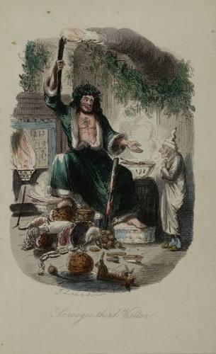 'A 크리스마스 Carol' Illustration