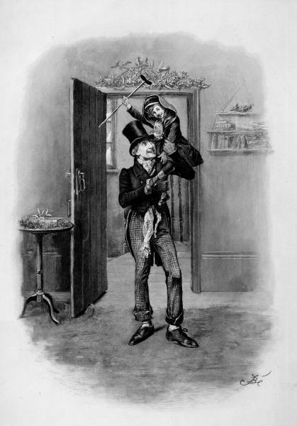 how does dickens show the development In this extract, dickens presents scrooge's character as mean, greedy and rude  the extract  christmas, which shows that being poor does not mean being  unhappy  a sustained and developed response analysing the.