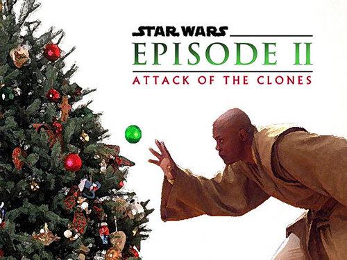A 별, 스타 Wars 크리스마스