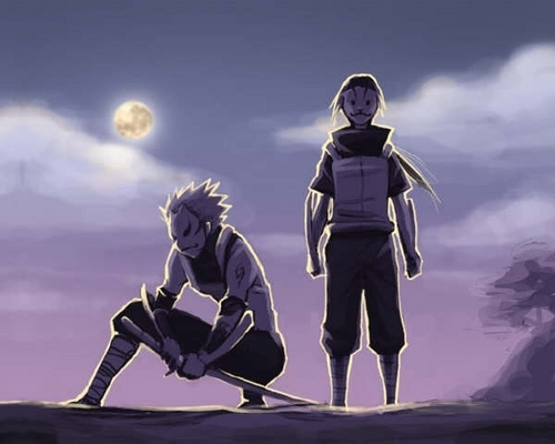 ANBU Itachi and Kakashi