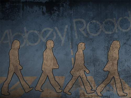 Abbey Road - the-beatles Wallpaper