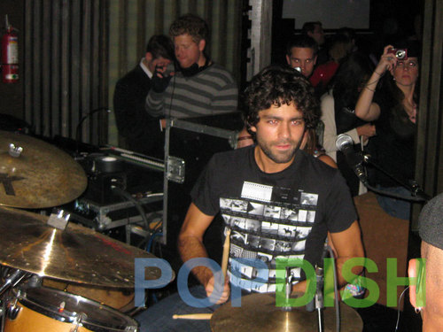 Adrian Grenier PopDish.com Thanksgiving Eve Performance