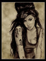 Amy painting&lt;33! - amy-winehouse fan art