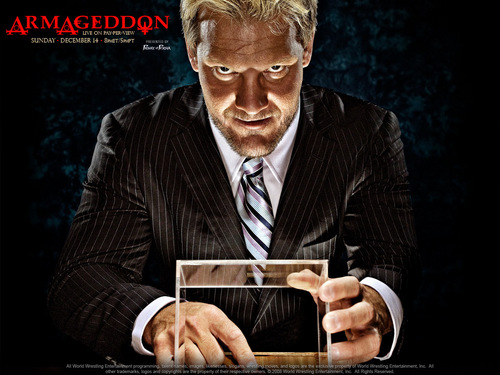 Professional Wrestling wallpaper containing a business suit titled Armageddon 2008