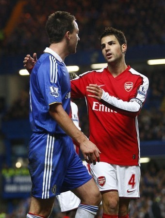 Arsenal vs. Chelsea, 30th Nov. 2008