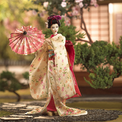Barbie پیپر وال with a کیمونو, kimono entitled Barbie!!