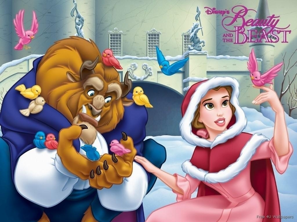 cartoon babes afbeeldingen beauty and her beast at christmas hd