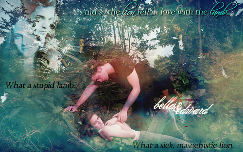 Bella & Edward medow widescreen