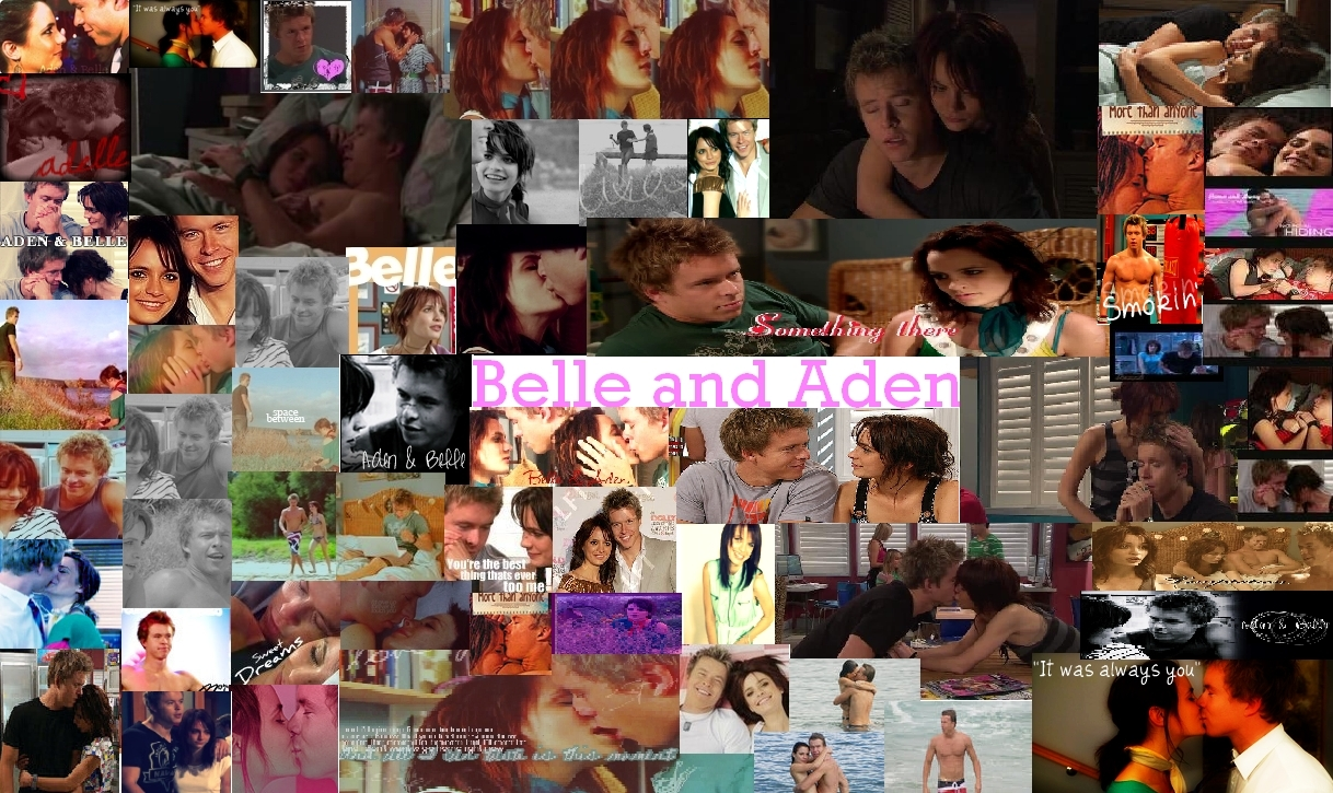 Belle and Aden Collage
