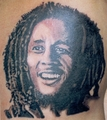 Bob Marley - tattoos photo