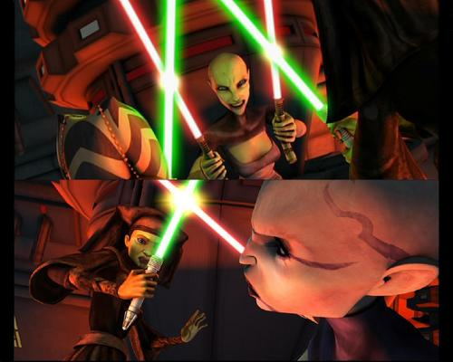 CLONE WARS episode 9 mantel of Darkness