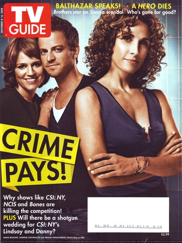 CSI NY- TV Guide Front Cover