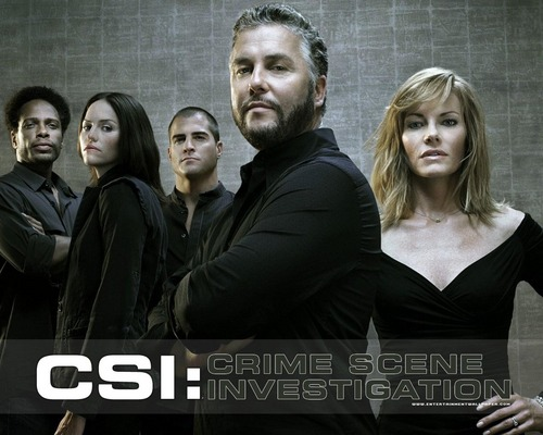 CSI wallpaper probably with a business suit, a well dressed person, and a portrait entitled CSI