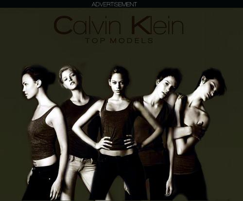 Calvin Klein 모델