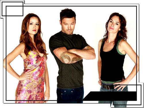 Cameron, Derek, Sarah