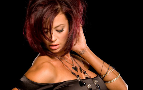 Candice Michelle fondo de pantalla probably containing attractiveness and a portrait called To the Point - Candice Michelle