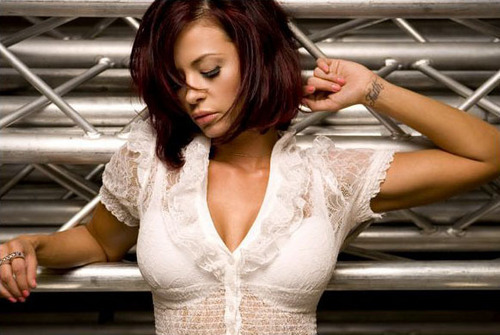 Candice Michelle kertas dinding probably containing a koktel dress titled Knockout - Candice Michelle